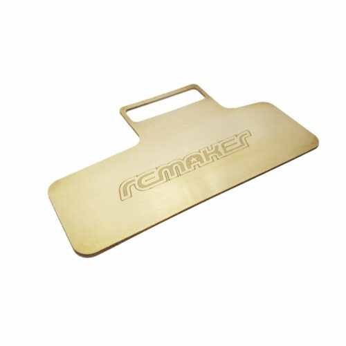 Single Sided Brass Electronics Plate